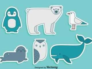 极地动物集合矢量