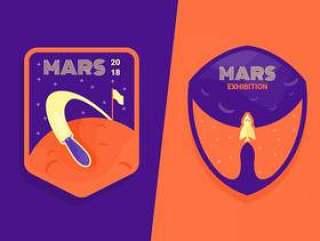 火星修补程序矢量之旅