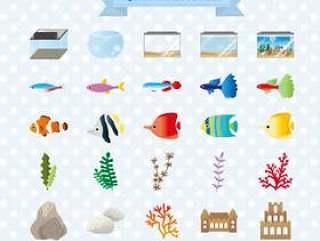 水族馆的插图
