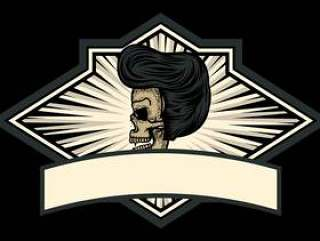 头骨加油徽章