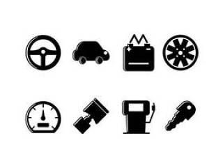 汽车相关的组的图标