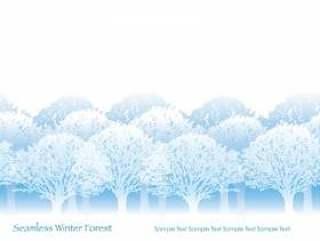 无缝四季森林1冬季