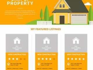 房地产列表模板