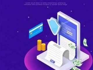 通过卡和付款收据进行互联网支付。
