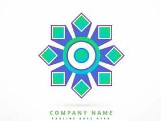 抽象徽标符号形状设计艺术