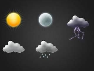 写实天气图标