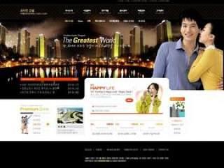 经典国外网站设计模板BOZ.PSD分层
