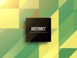 抽象的绿色几何三角形背景设计