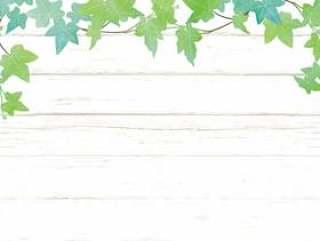 绿色和木板框架2