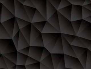 三角抽象黑色背景矢量