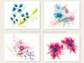 水彩花卉插画集1
