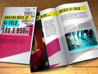 Psd Bifold手册模拟模板