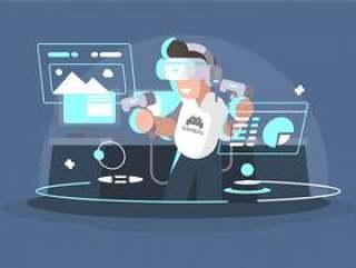 虚拟现实体验插图