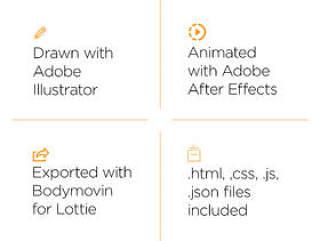 16个动画天气图标lottie兼容,16个天气动画图标