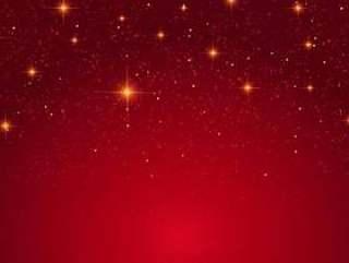 圣诞星星背景