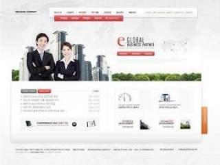 企业网站模板PSD分层(752)