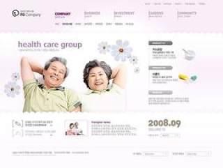 企业网页模板PSD分层(809)