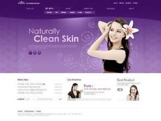 韩国某美容医疗网站模板(24)