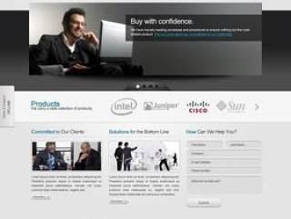商务网站PSD分层