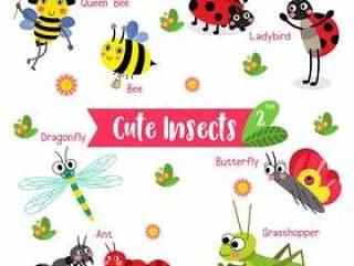 昆虫虫动物卡通