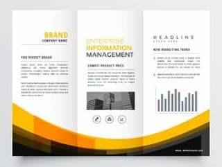 灯笼业务手册传单小册子设计模板