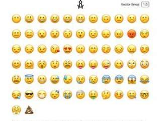 矢量表情符号PSD源文件 Vector Emoji