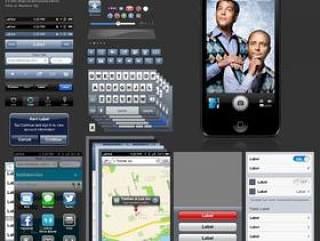 iPhone5版iOS6GUIPSD源文件