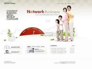 企业网站模板PSD分层(761)