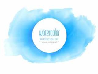 抽象的蓝色水彩纹理矢量背景