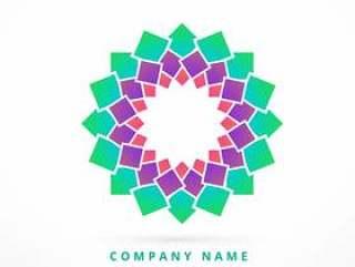 抽象的公司徽标模板设计标志