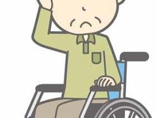 老人m d - 轮椅困扰 - 全身