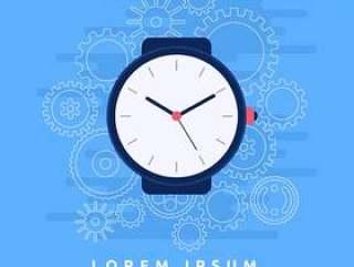 手表零件插图