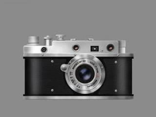 复古相机临摹