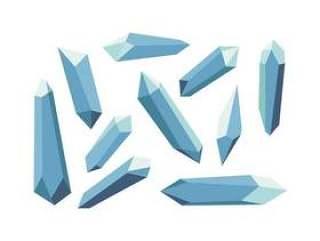的晶体形状矢量