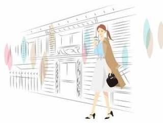 人物002职业女性的插图