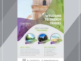 Travel Flyer Templates