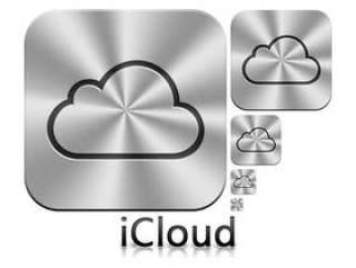 苹果iCloud图标各尺寸PSD