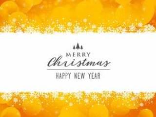 令人敬畏明亮的快乐圣诞节节日背景