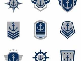 海军密封矢量集合