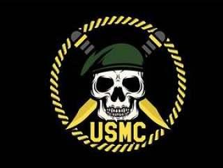 USMC头骨吉祥人传染媒介