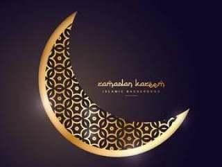 金色的月亮,