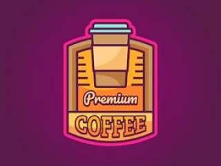 优质咖啡标志