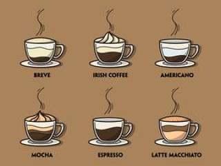咖啡插图集