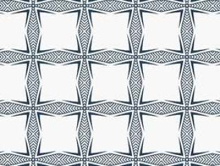 在抽象的几何风格优雅的图案设计