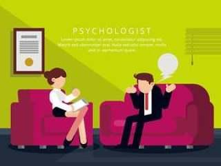 心理学家的插图
