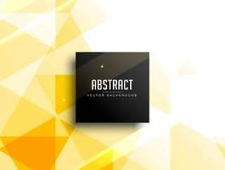 黄色抽象背景设计矢量