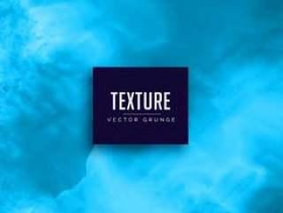 蓝色水彩污渍纹理背景