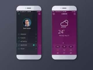 iOS7天气应用