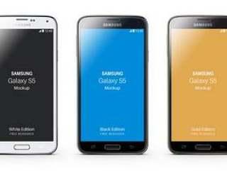 三星Galaxy S5 Psd Mockup