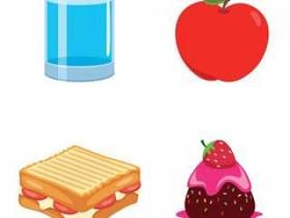食物的传染媒介例证